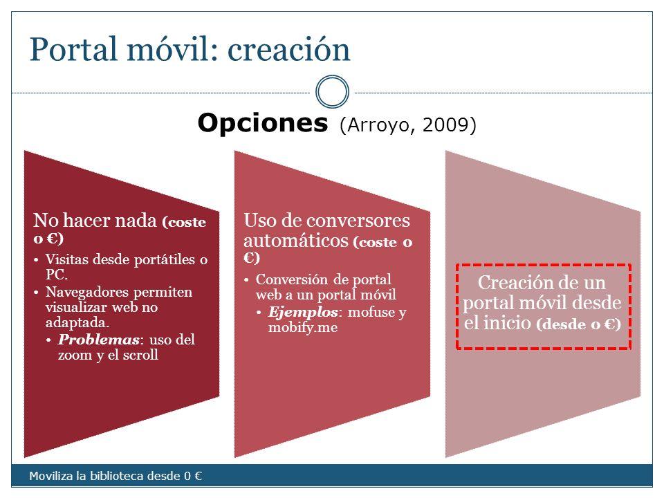 Portal móvil: creación