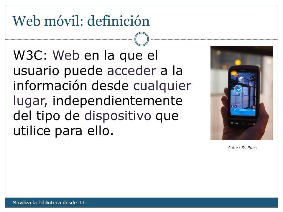 Web móvil: definición