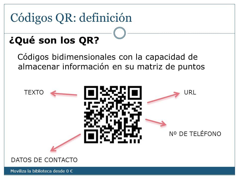 Códigos QR: definición