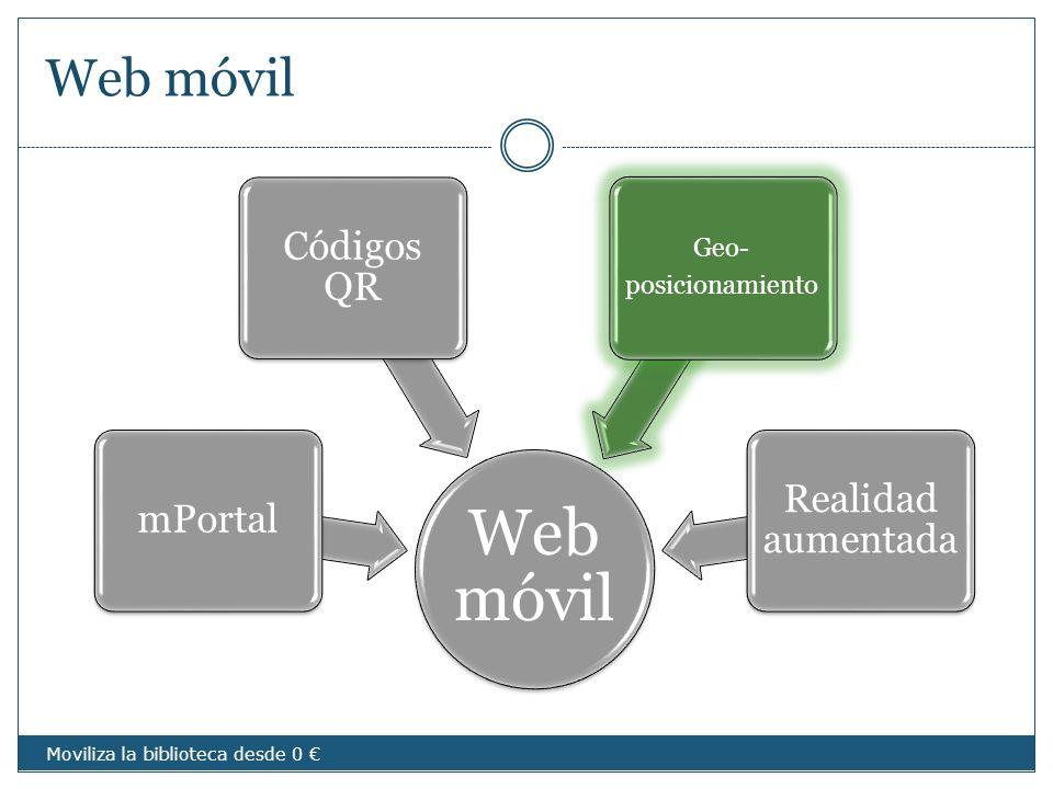 Web móvil Web móvil Códigos QR Realidad aumentada mPortal Geo-