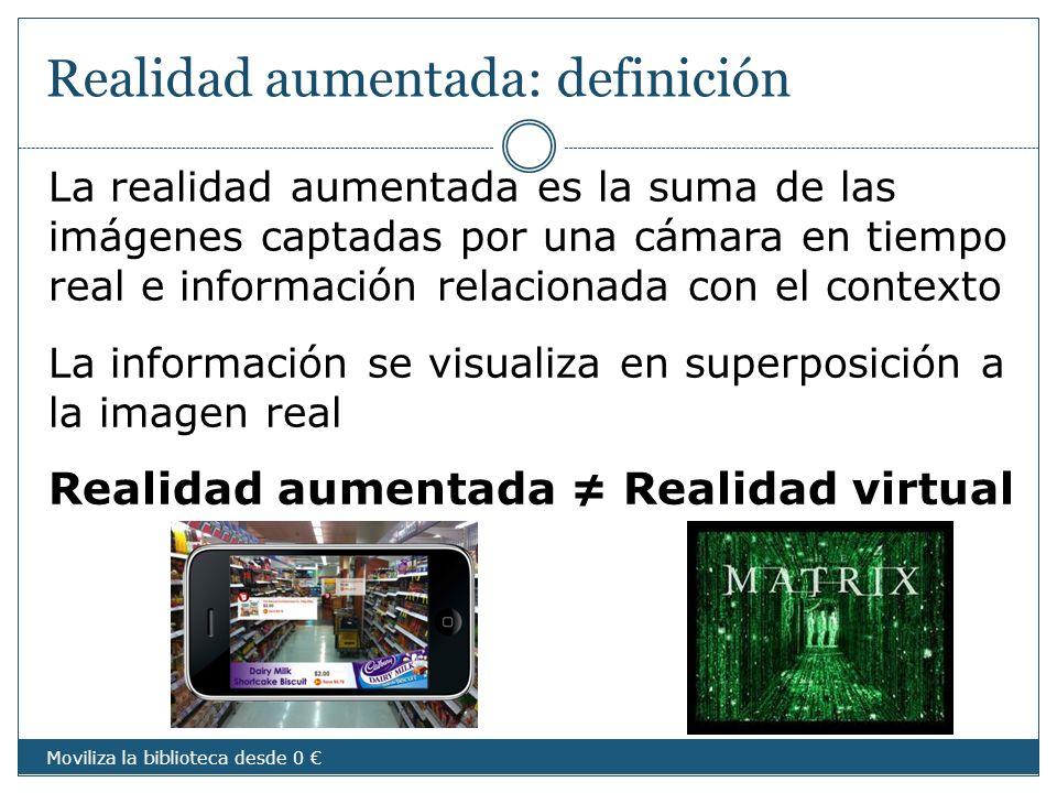 Realidad aumentada: definición