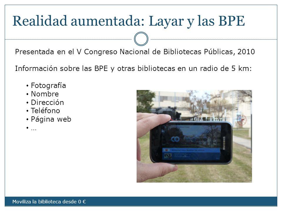 Realidad aumentada: Layar y las BPE