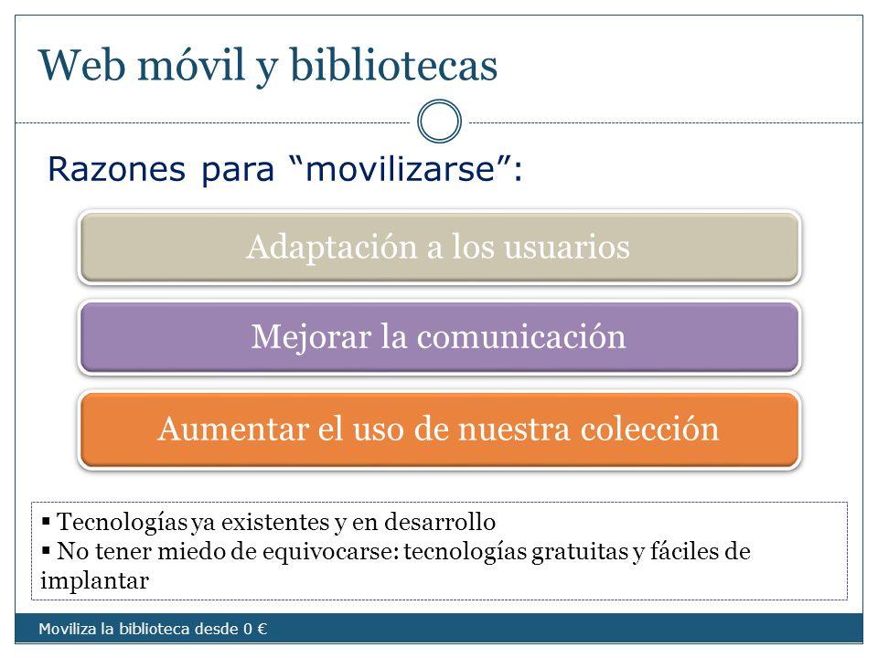 Web móvil y bibliotecas