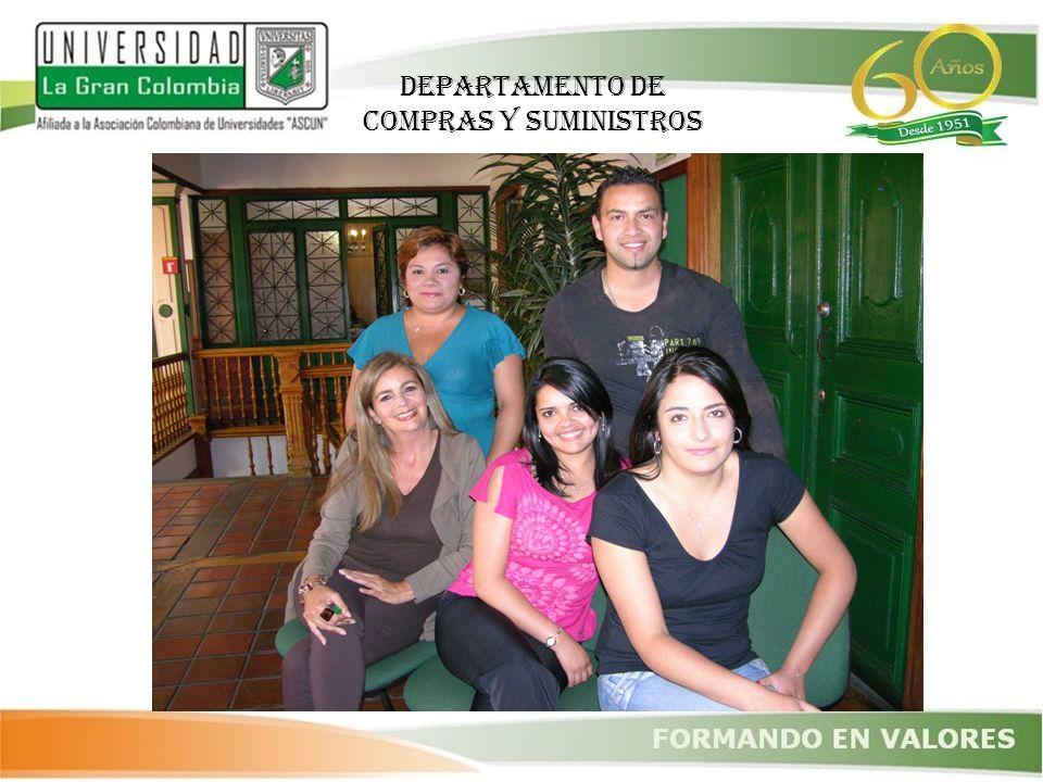 DEPARTAMENTO DE COMPRAS Y SUMINISTROS