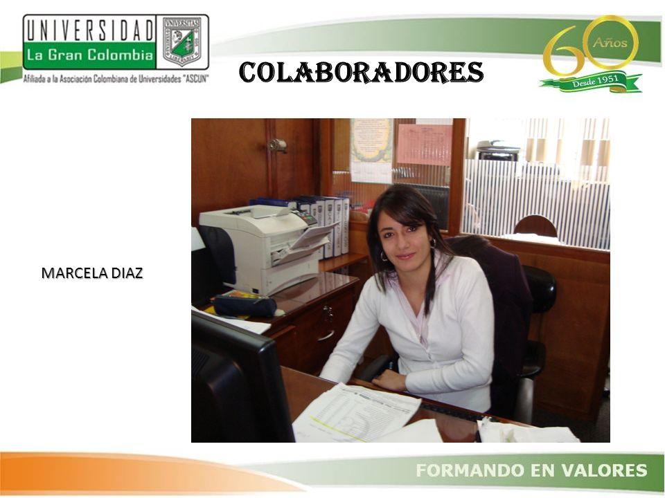 COLABORADORES MARCELA DIAZ