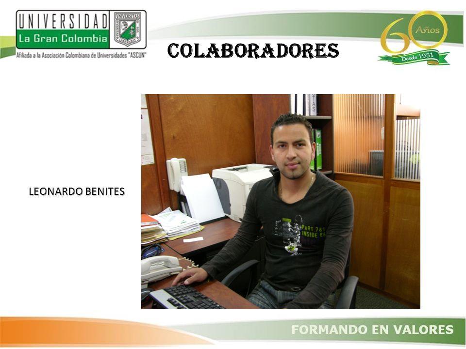 COLABORADORES LEONARDO BENITES