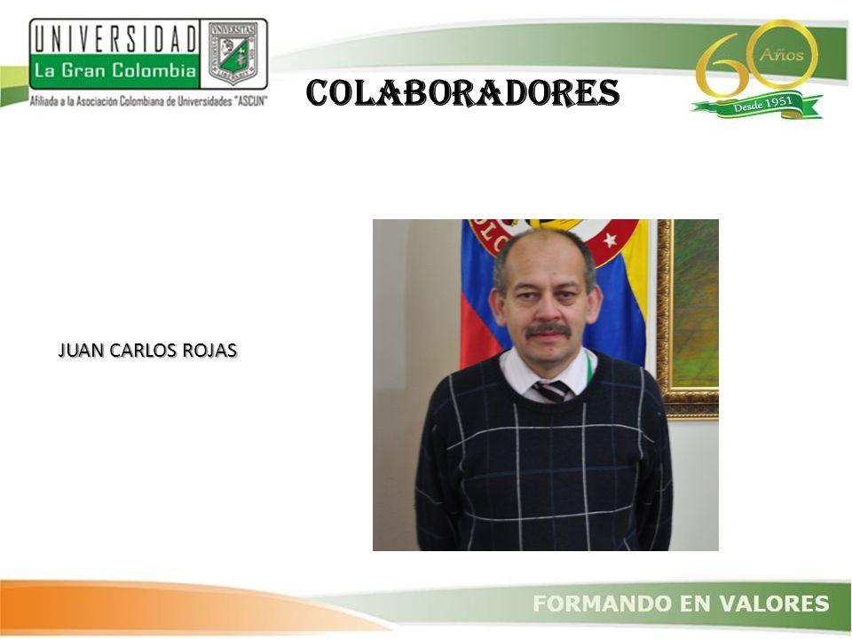 COLABORADORES JUAN CARLOS ROJAS