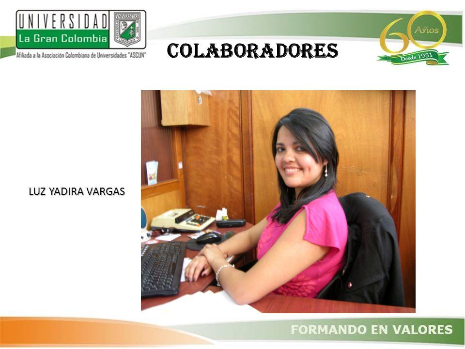 COLABORADORES LUZ YADIRA VARGAS