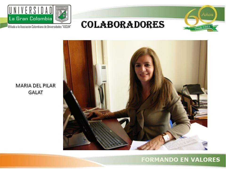 COLABORADORES MARIA DEL PILAR GALAT