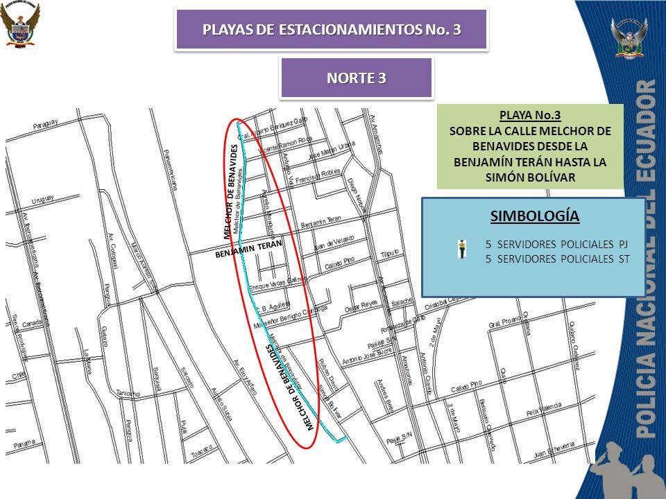 PLAYAS DE ESTACIONAMIENTOS No. 3