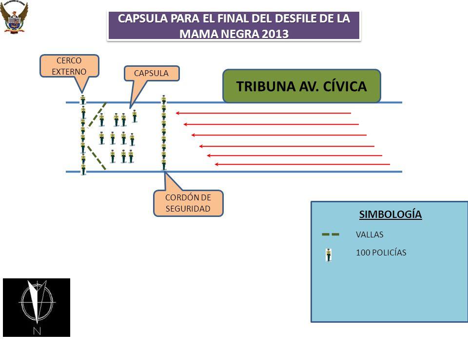 CAPSULA PARA EL FINAL DEL DESFILE DE LA MAMA NEGRA 2013