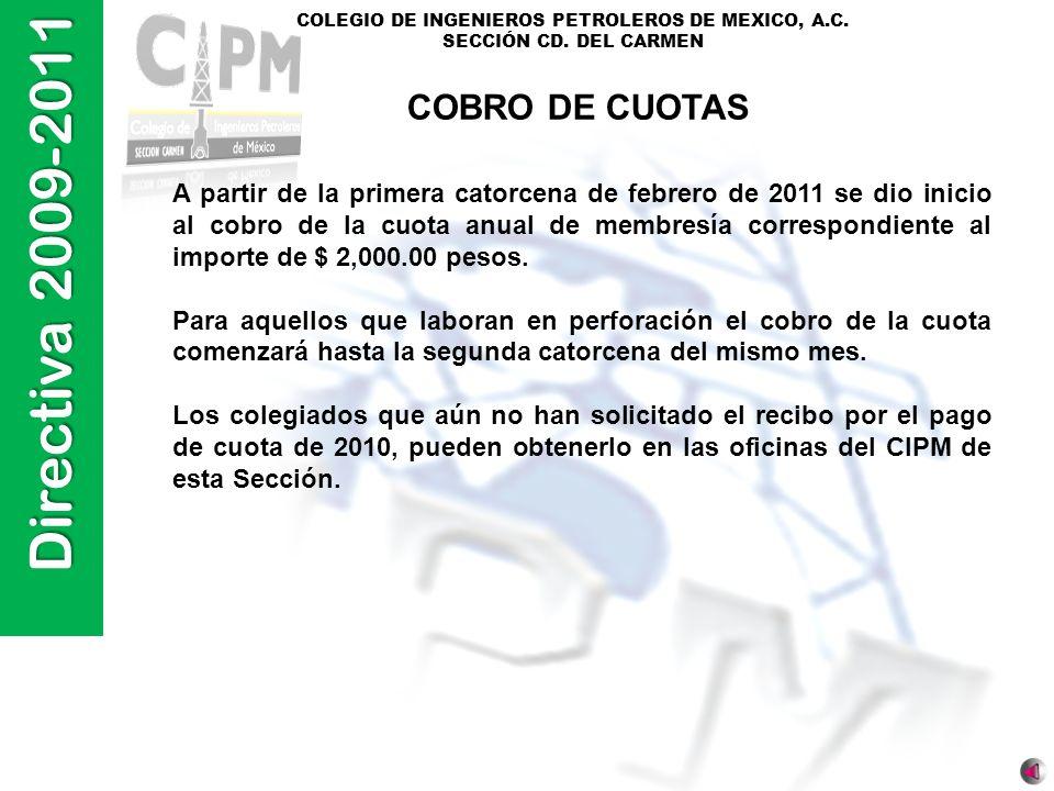 COBRO DE CUOTAS
