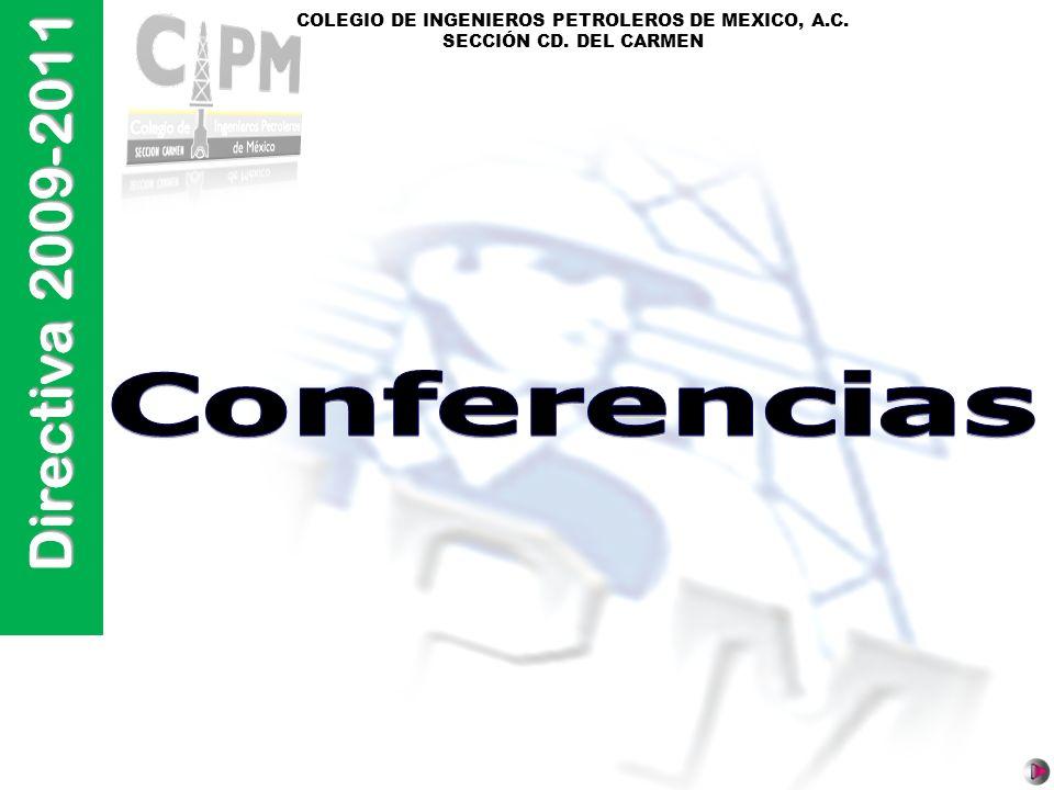 Directiva 2009-2011 Conferencias