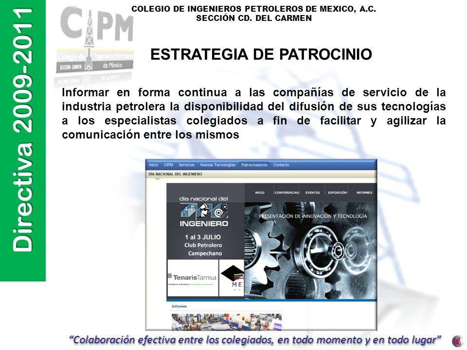 ESTRATEGIA DE PATROCINIO