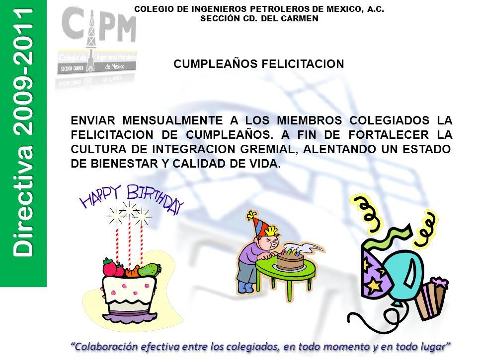CUMPLEAÑOS FELICITACION