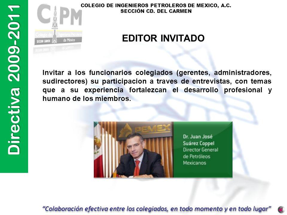 EDITOR INVITADO