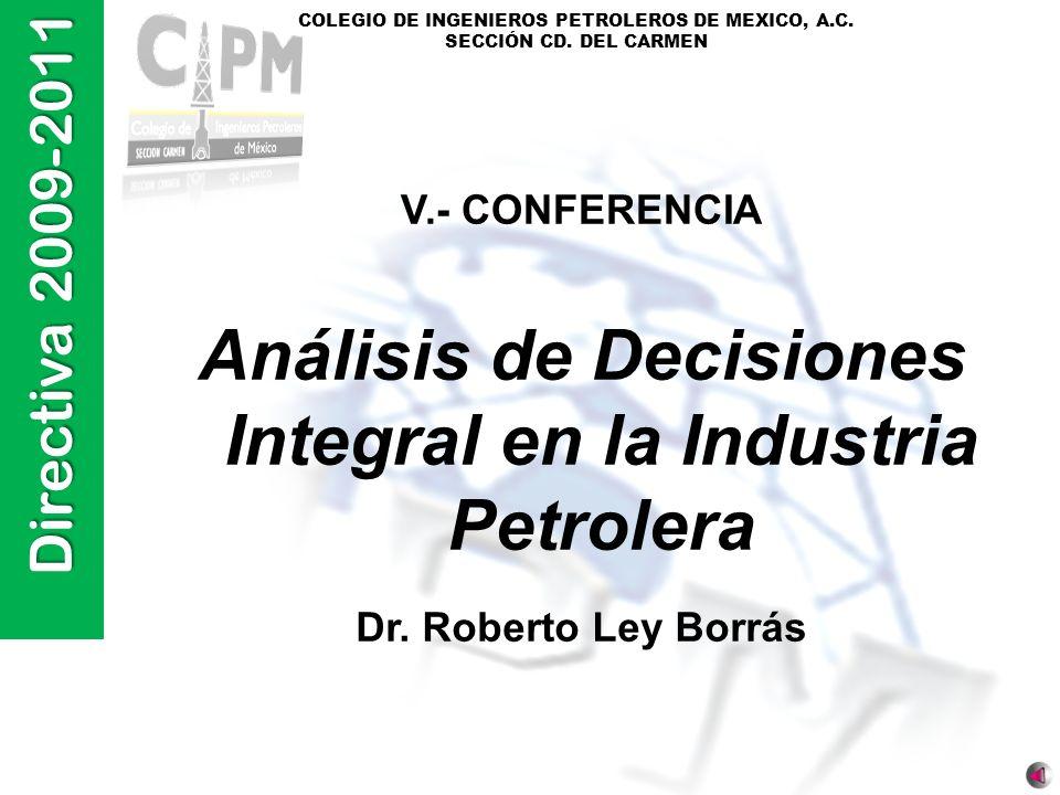 Análisis de Decisiones Integral en la Industria Petrolera