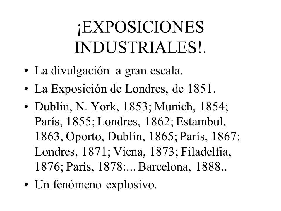 ¡EXPOSICIONES INDUSTRIALES!.