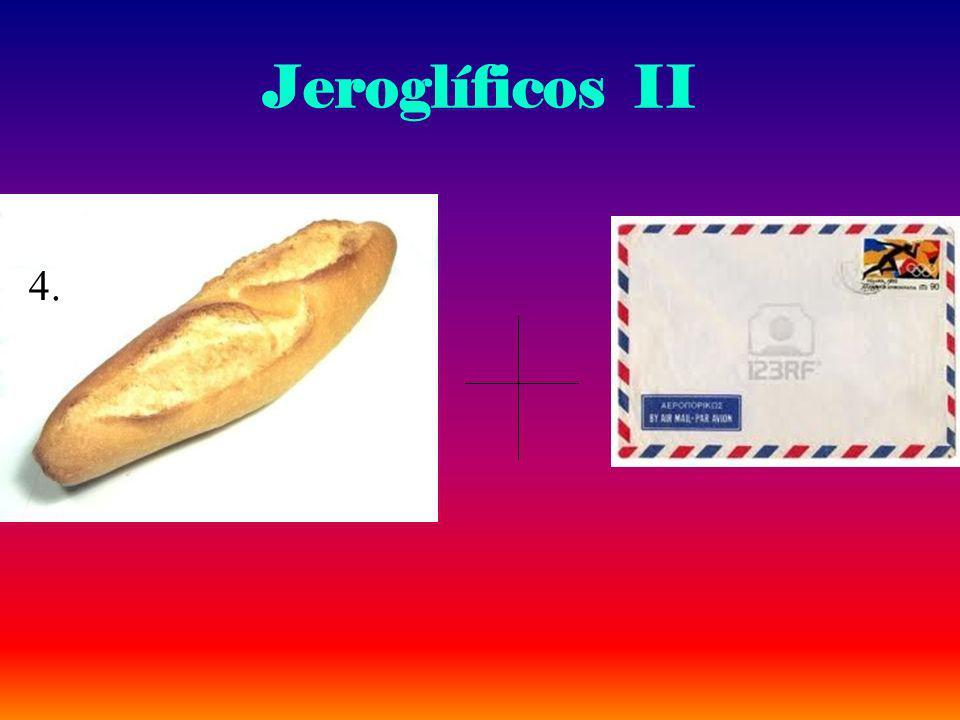 Jeroglíficos II 4.