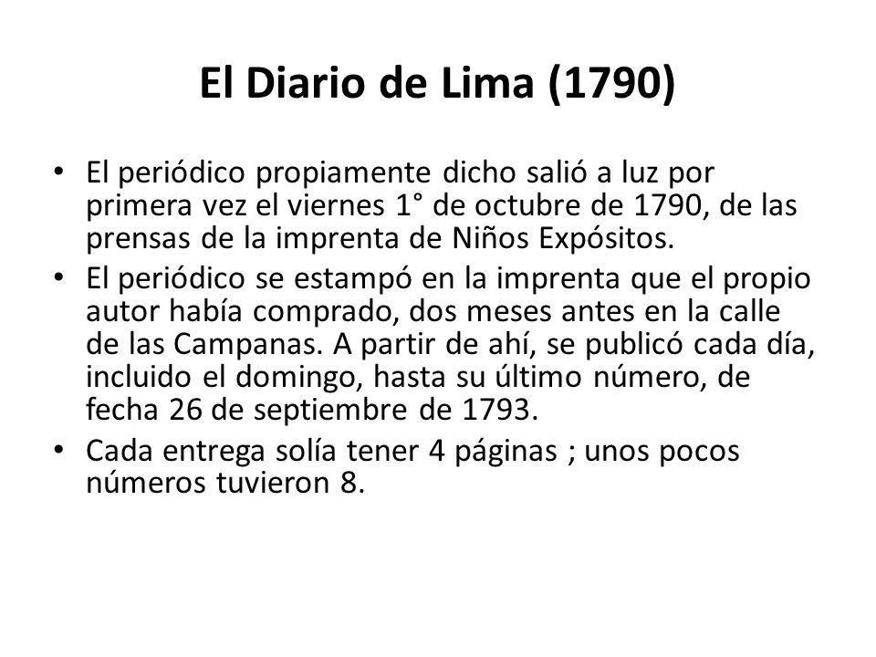 El Diario de Lima (1790)