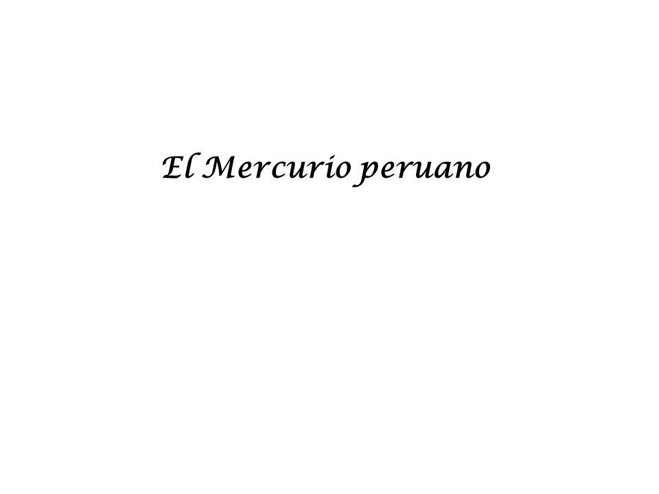 El Mercurio peruano