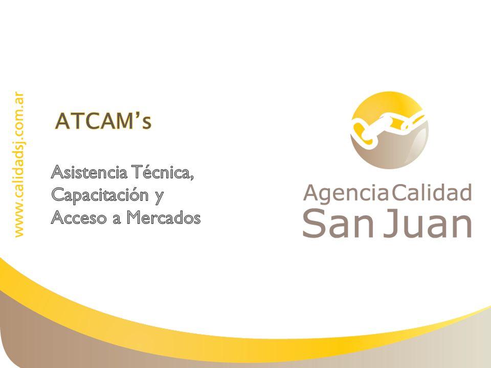 ATCAM's Asistencia Técnica, Capacitación y Acceso a Mercados