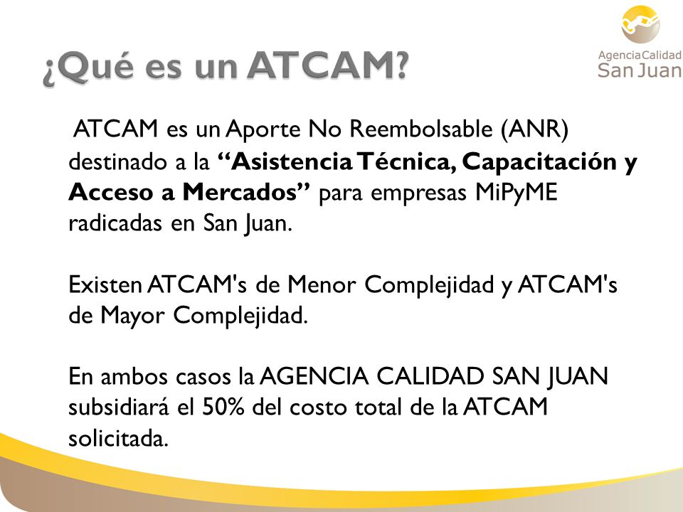 ¿Qué es un ATCAM