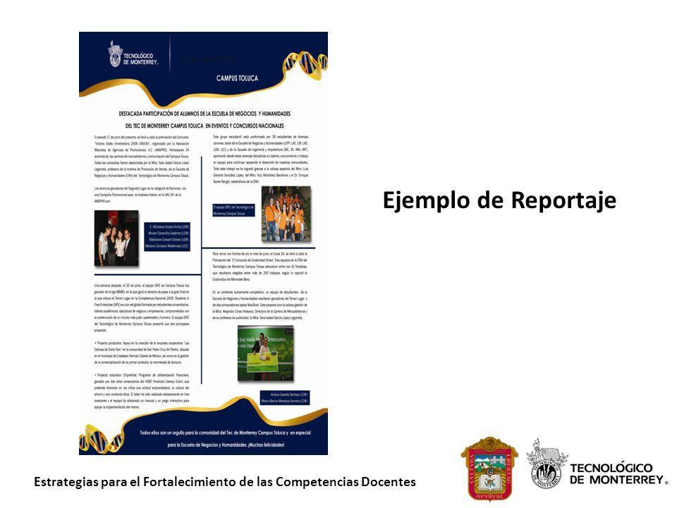 Ejemplo de Reportaje