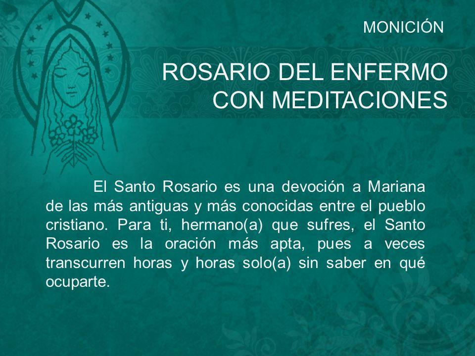 ROSARIO DEL ENFERMO CON MEDITACIONES