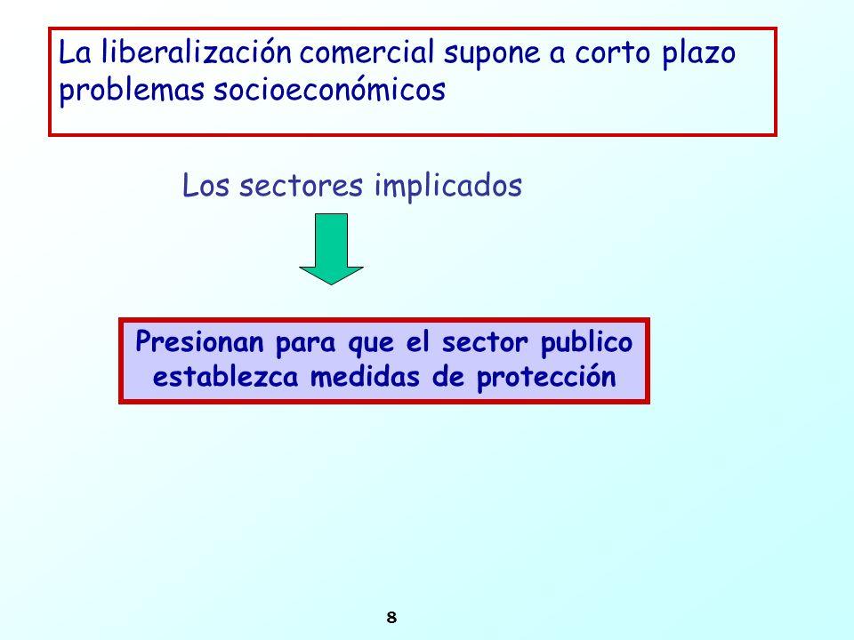 Presionan para que el sector publico establezca medidas de protección