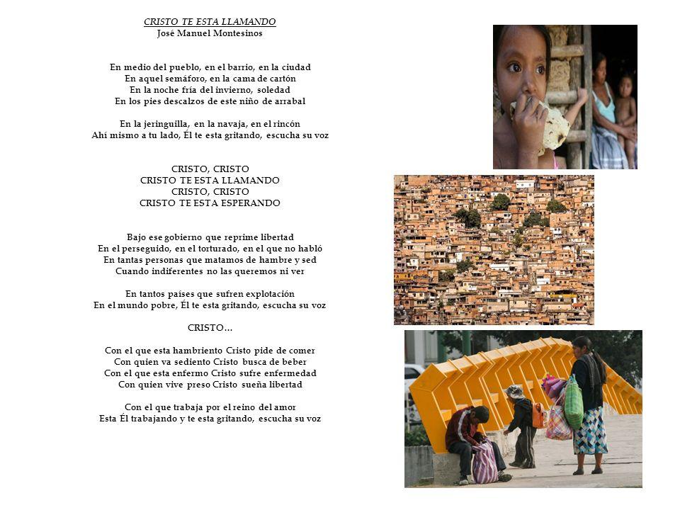 CRISTO TE ESTA LLAMANDO José Manuel Montesinos