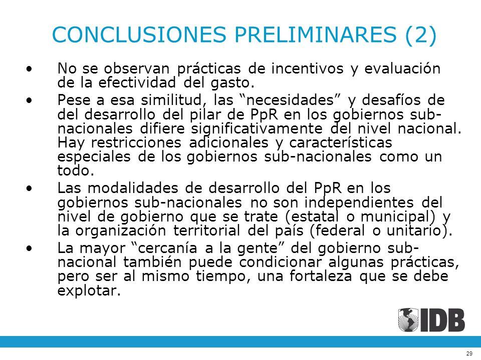 CONCLUSIONES PRELIMINARES (2)