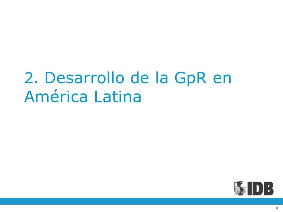 2. Desarrollo de la GpR en América Latina