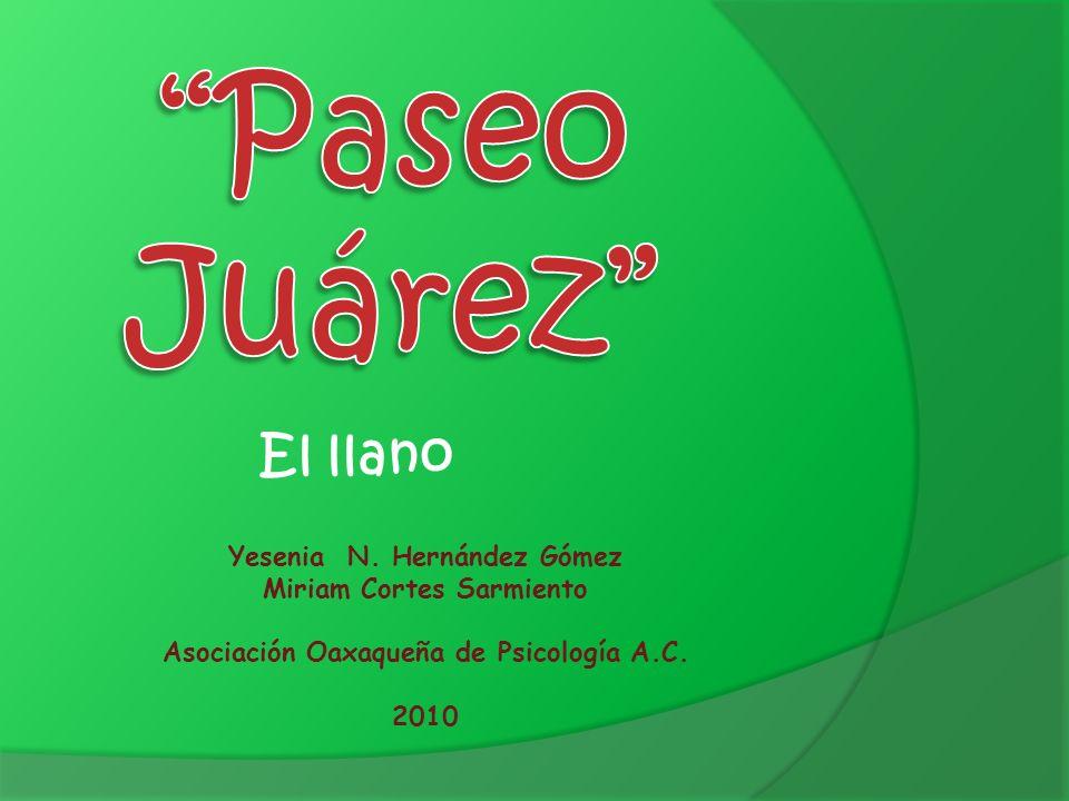 Paseo Juárez El llano Yesenia N. Hernández Gómez