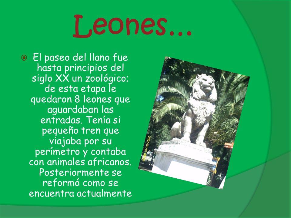 Leones…