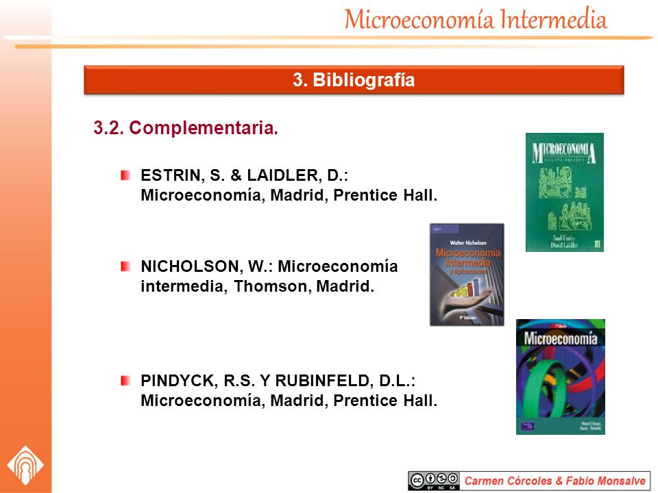 3. Bibliografía 3.2. Complementaria.