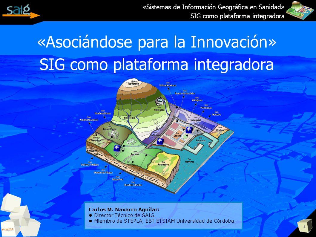 «Asociándose para la Innovación» SIG como plataforma integradora