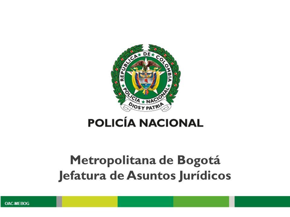 Metropolitana de Bogotá Jefatura de Asuntos Jurídicos