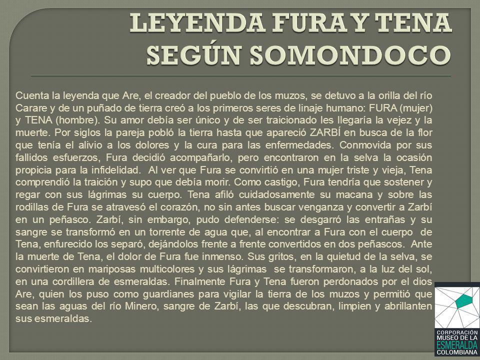 LEYENDA FURA Y TENA SEGÚN SOMONDOCO