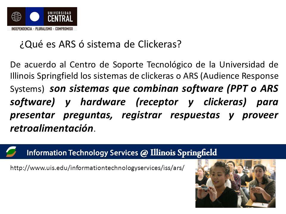 ¿Qué es ARS ó sistema de Clickeras