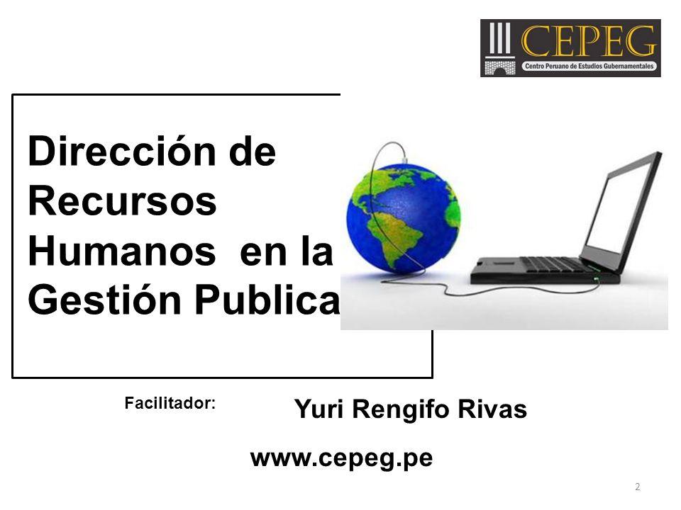 Dirección de Recursos Humanos en la Gestión Publica