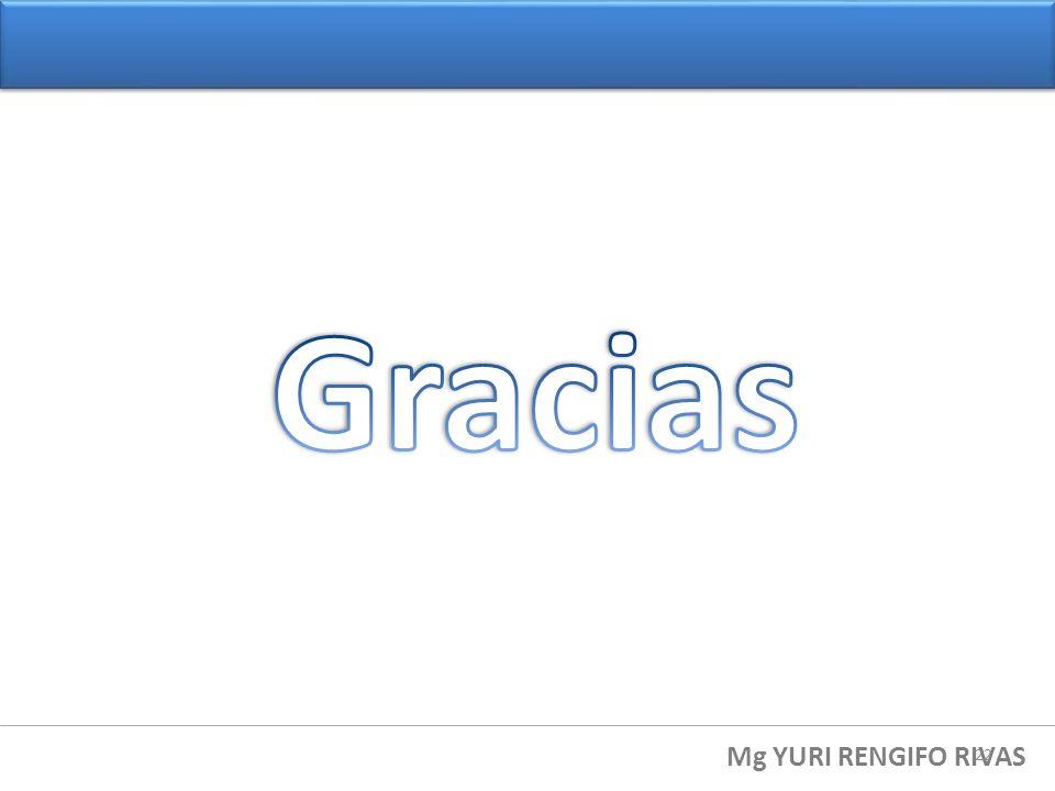 Gracias Mg YURI RENGIFO RIVAS