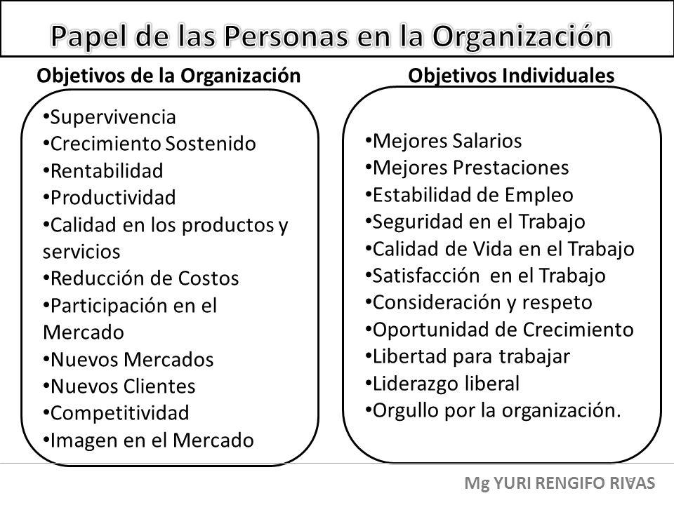Papel de las Personas en la Organización