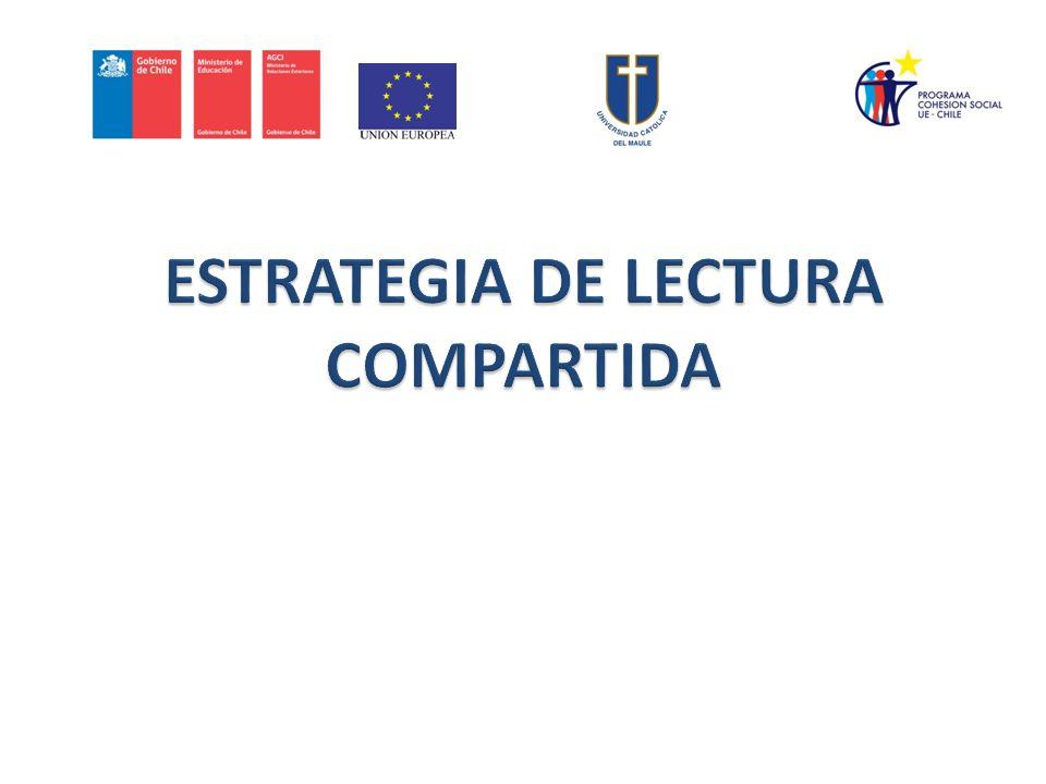 ESTRATEGIA DE LECTURA COMPARTIDA