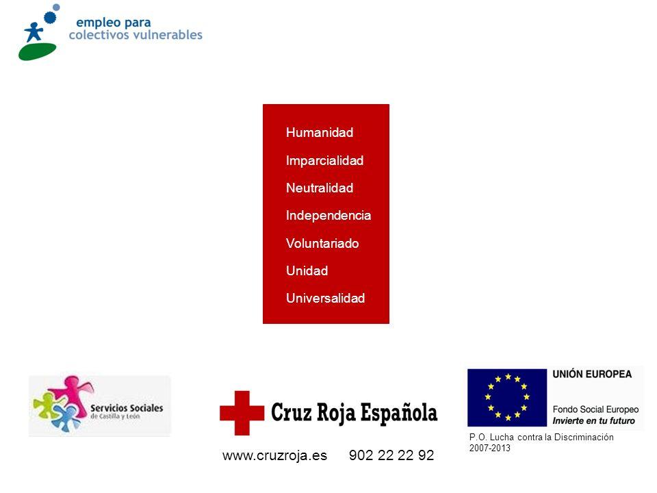 P.O. Lucha contra la Discriminación 2007-2013