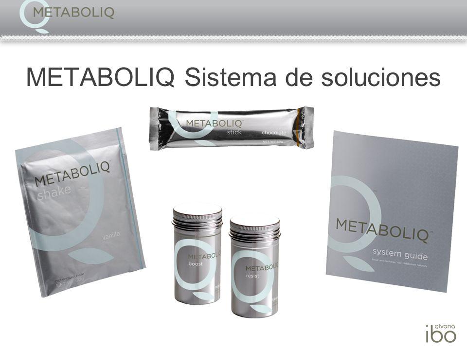 METABOLIQ Sistema de soluciones