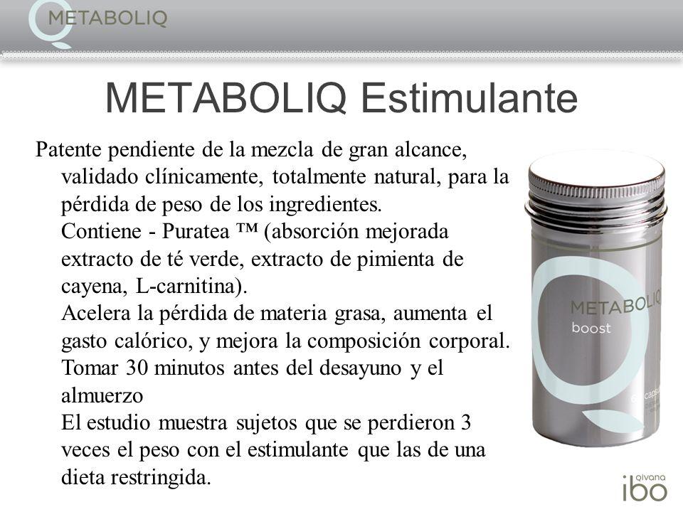METABOLIQ Estimulante