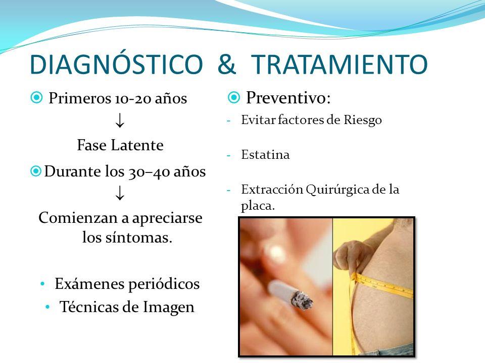 DIAGNÓSTICO & TRATAMIENTO