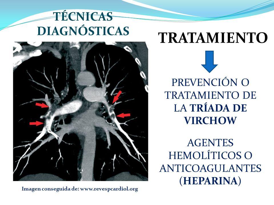 TÉCNICAS DIAGNÓSTICAS Imagen conseguida de: www.revespcardiol.org