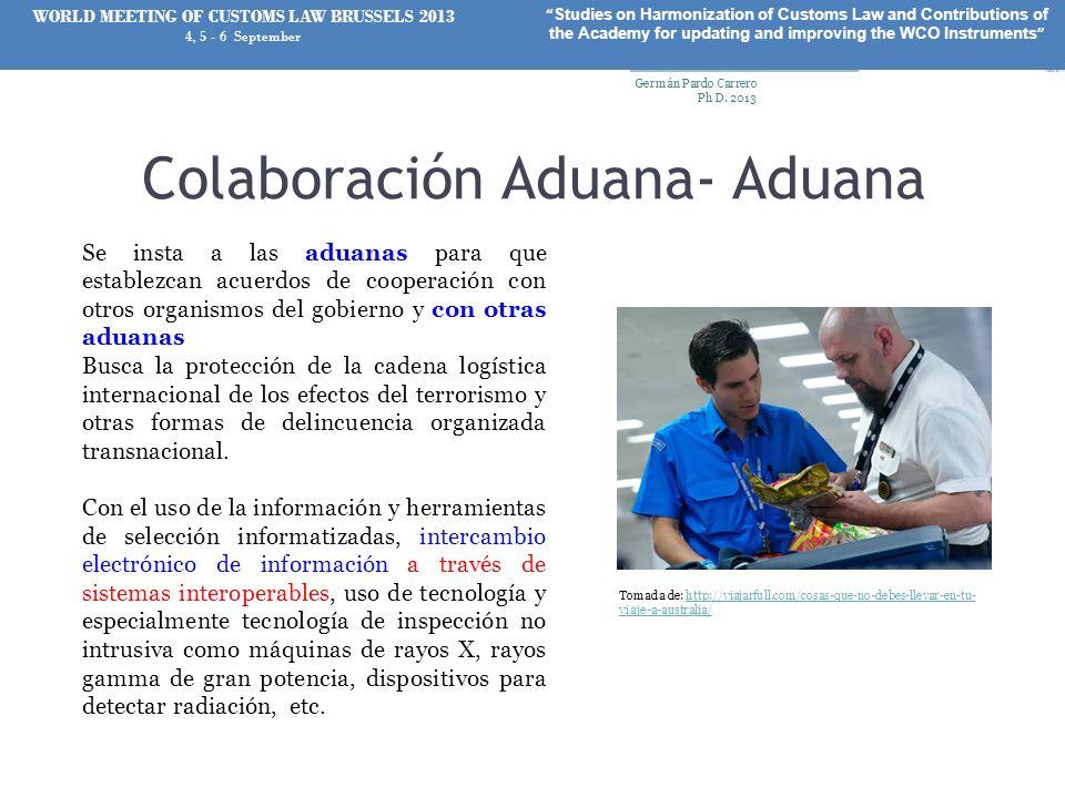 Colaboración Aduana- Aduana